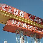 Club Cafe Sign Santa Rosa by Paul Butler