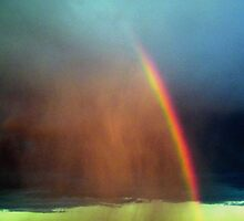 Rainbow From Nowhere by R&PChristianDesign &Photography