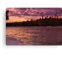 Looks Like Snow Canvas Print