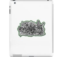 Design 019s1 - by Kit Clock iPad Case/Skin
