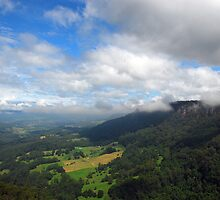 Upper Kangaroo Valley No 1 by George Petrovsky