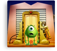 Monster Inc Mike Wazowski Canvas Print