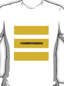 Team White And Gold T-Shirt