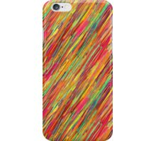Oil Painting Downpour iPhone Case/Skin