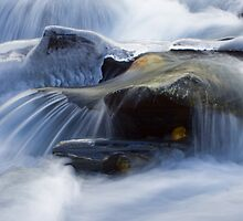 Ice Rapids by EchoNorth