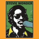 STEVIE WONDER-POP by OTIS PORRITT