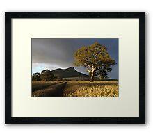 Wild Light over the Grampians, Dunkeld, Australia Framed Print
