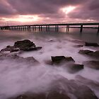 Lorne Pier Dawn, Australia by Michael Boniwell