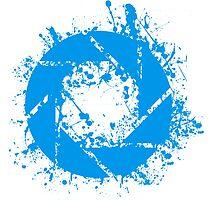 Portal Aperture Science Splatter Logo by Dr4Cu74