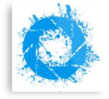 Portal Aperture Science Splatter Logo Metal Print