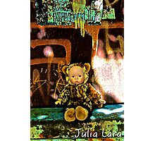 Back Alley Leopard Doll  Photographic Print