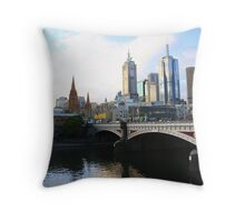 Princess Bridge 1888 to 2008! Throw Pillow
