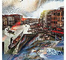 Incident in Venice Photographic Print