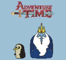 ADVENTURE TIME WITH ICE KING AND GUNTER Kids Clothes