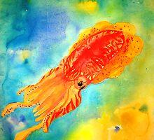 cuttlefish II by Nicole Gibson
