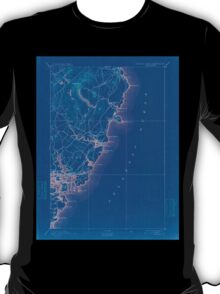 Maine USGS Historical Map Springfield 807744 1893 62500 Inversion T-Shirt