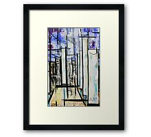 1998 Abstract composition Framed Print