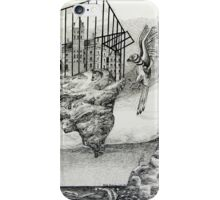 Trapped in a birdcage iPhone Case/Skin
