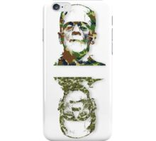 Well Camouflaged Monster iPhone Case/Skin