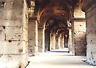 Colloseum Arches, Rome by blueeyesjus