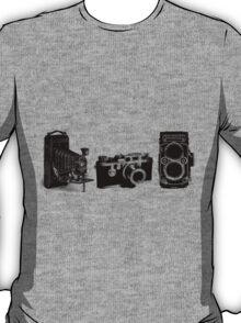 3 cameras T-Shirt