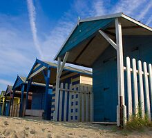 Beach Hut Series 4 by Amanda White