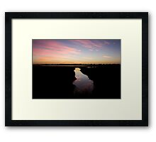 Vasse Wetlands Framed Print