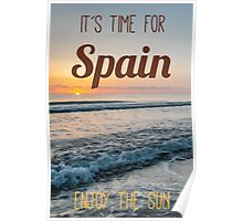 Time for Spain Poster