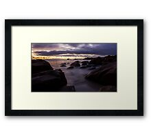 Meelup Beach Framed Print