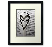 I ♥ Harry Potter Framed Print