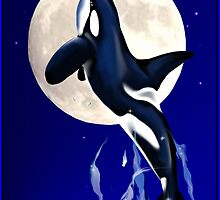 Orca Moon by Lotacats