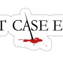 Best Case Ever Sticker