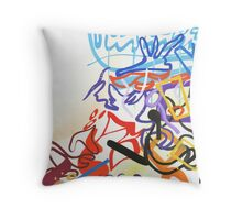 Abstract #19 Throw Pillow