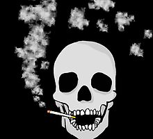 Smoking Skull by Logan81