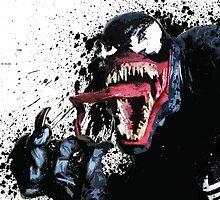 """""""Venom"""" Splatter Art by KYCollectibles"""