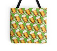 St. Patricks Day - Beer Pattern Tote Bag