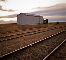 Train to nowhere by John Brawley