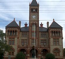 Dewitt Co Courthouse, Cuero, Tx. 1897 by John Thomason