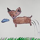 Ren Loves To Fetch by Zoe Thomas age 7 by Julia  Thomas