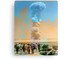 Nuclear Testing: Operation Teapot  Canvas Print
