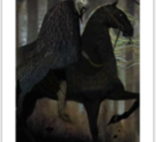 Dragon Age Inquisition Blackwell Tarot card 3 Sticker