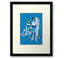 Soldier of Water & Wisdom Framed Print
