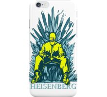 funny Walter of throne  iPhone Case/Skin