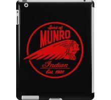 Spirit Of Munro bikers lifestyle iPad Case/Skin