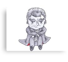 Grumpy Capaldi Canvas Print