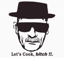 Walter White Let's Cook Breaking Bad  T-Shirt