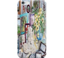 Table of an Art Enthusiast iPhone Case/Skin