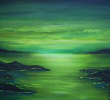 Green silence by Eleni dreamel