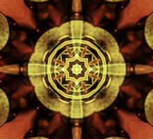 Steampunk Kaleidoscope Sticker