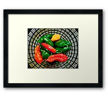 Four Alarm Harvest  Framed Print